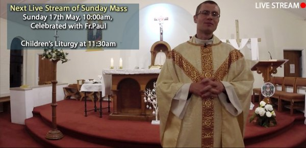 Live Mass Streaming at Sacred Heart
