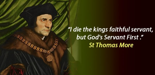 March of the Saints by Grania Egan - St Thomas More